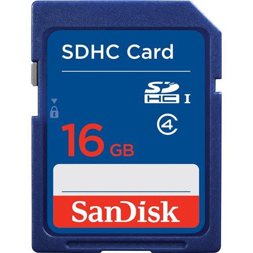 16 GB SDHC Memory Card